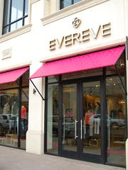An exterior shot of an Evereve store. Evereve is a