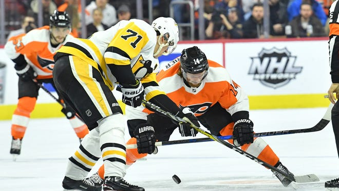 A playoff series against Evgeni Malkin and the Penguins could be a welcomed fresh slate for some Flyers.