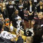 Mississippi State coach Vic Schaefer is a finalist for the Naismith Coach of the Year award.