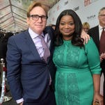 "Director Mike Binder and actress Octavia Spencer attend the ""Black And White"" premiere during the 2014 Toronto International Film Festival at Roy Thomson Hall on September 6, 2014 in Toronto, Canada. Photo by Jason Kempin/Getty Images"