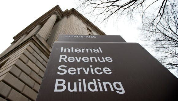 The Internal Revenue Service building at the Federal