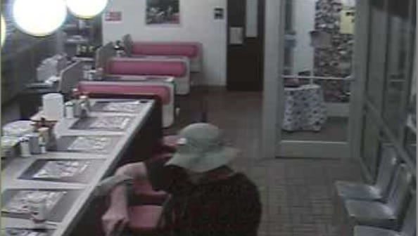 This man robbed the Sidco Drive Waffle House after ordering a cup of chocolate milk last Thursday.