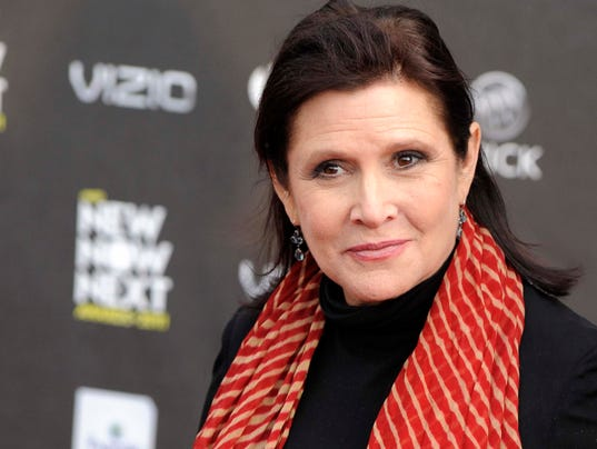 AP CARRIE FISHER A ENT FILE USA CA