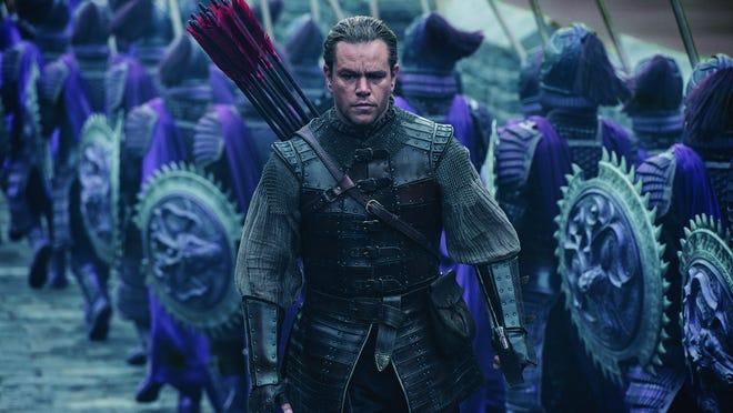 "Matt Damon stars as Westerner William Garin in Zhang Yimou's ""The Great Wall."""