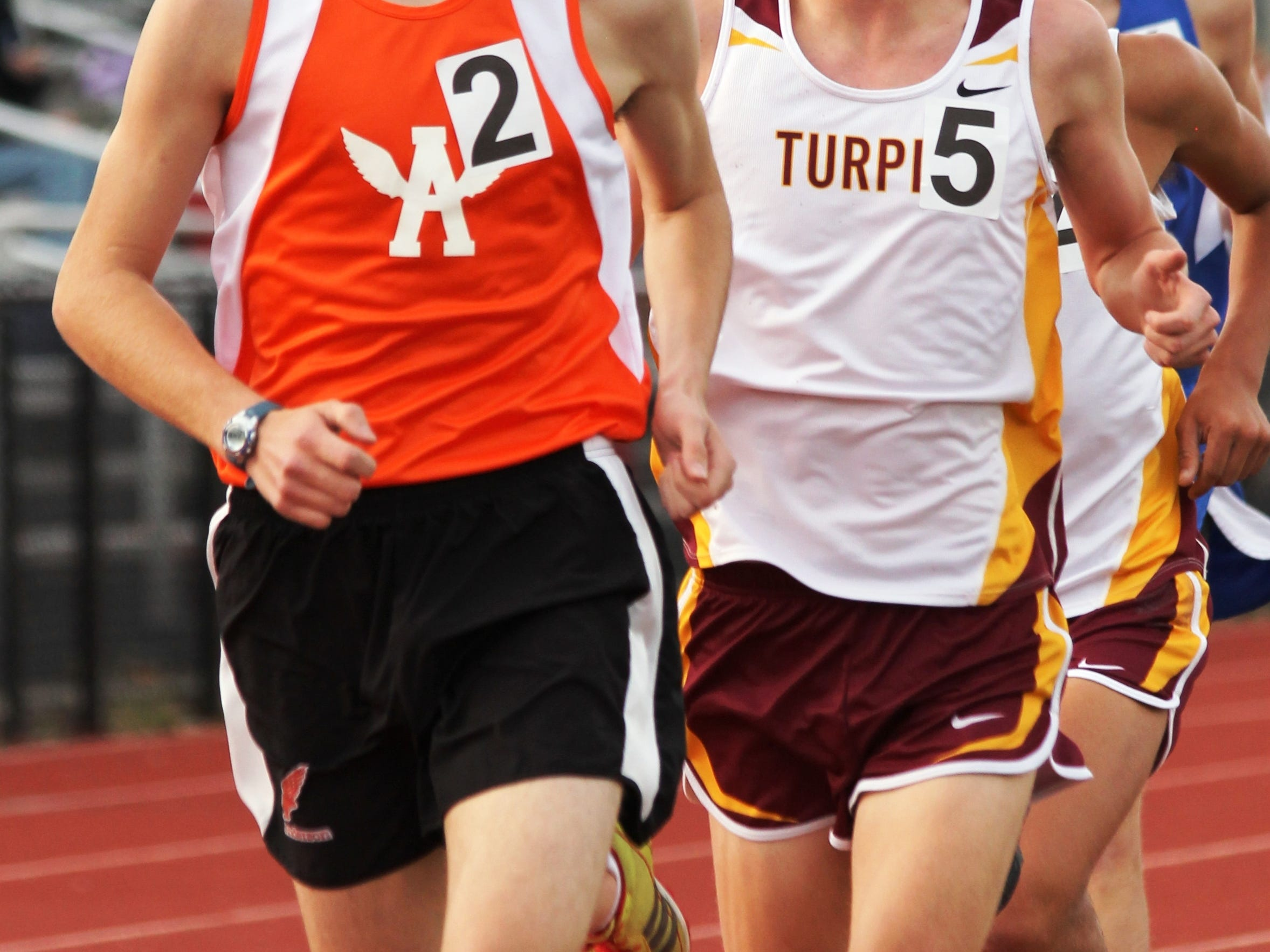 Anderson's Nick Stone, along with teammate Josh Gittelman, should help Anderson excel in the middle distance and mile races.