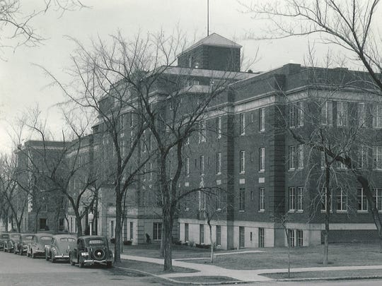 The Spencer Memorial Deaconess Hospital, shown in this