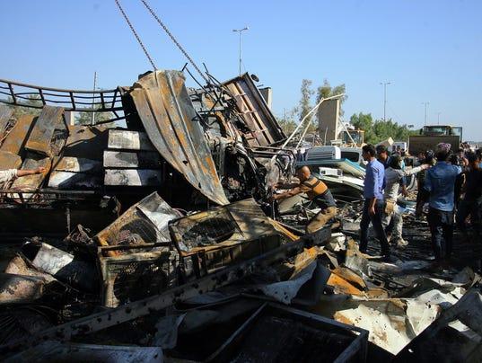 EPA IRAQ HILLA BOMBING WAR ACTS OF TERROR IRQ IR