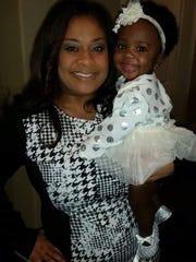 Domonique Benn and her daughter Sydney