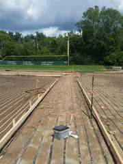 A new heating system under the infield at Kobs Field