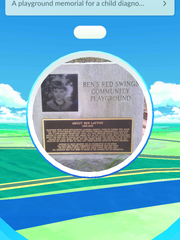 The Ben's Red Swings Playground is a Pokespot in Salisbury.