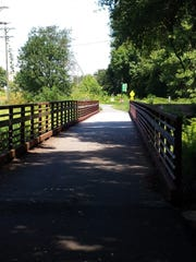 The Swamp Rabbit Trail in Greenville has become a hub
