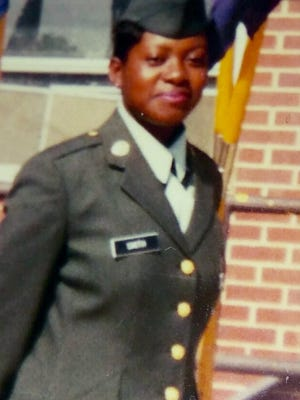 Telly Antona as an Army Specialist at Fort Campbell, Kentucky.