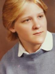 Brynn Gati's graduation photo from 1985. She was an
