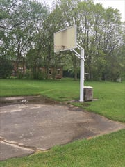Pierce has done his shooting on this court near his home since 1973.
