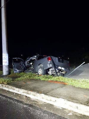 A 66-year-old driver of a Nissan Titan died after crash on Harmon Loop Road early Thursday, Sept. 7, police said.