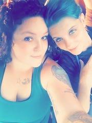 Jessica and Courtney Wright