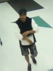 Police released this image of a man suspected in a