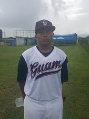 Pitcher Jayce Concepcion allowed just one hit as he led Guam's Senior League Baseball All-Stars to a 23-0 victory over India at the Asia Pacific Regional Championships June 30 in the Philippines.