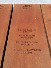Leon County names at National Memorial for Peace and