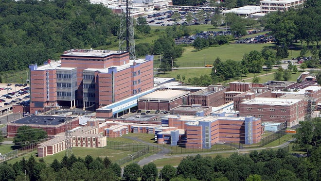 The Westchester County jail in Valhalla is shown in this file photo.