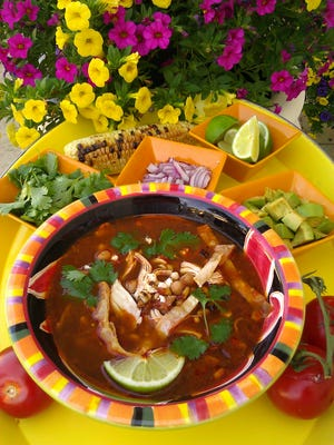 Tortilla Soup by Celia Casey.