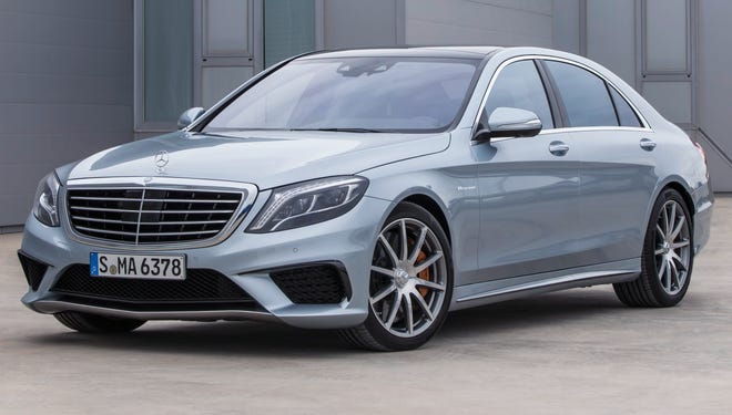 The redesigned 2014 Mercedes-Benz S-Class sedan luxury flagship in the 570-horsepower S63 AMG performance version.