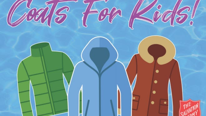 Parrot Island Waterpark of Fort Smith has partnered with The Salvation Army to host the Coats for Kids Winter Coat Drive until Sept. 7, the final day of the 2020 season.