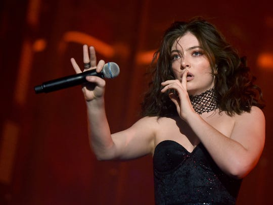 INDIO, CA - APRIL 23:  Singer Lorde performs on the
