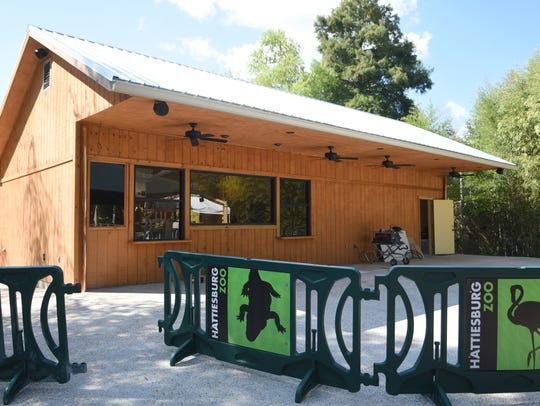 A concession stand like this one at Hattiesburg Zoo's high ropes course was burglarized during a recent spate of commercial burglaries in the Hub City.