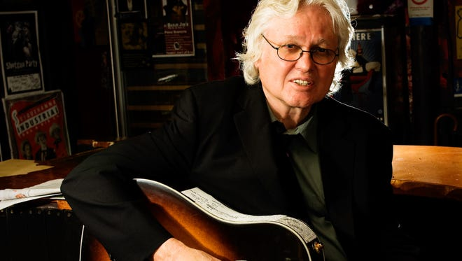 Chip Taylor plays the Towne Crier Cafe in Beacon on Oct. 24.