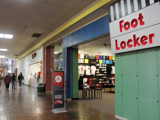 The local Foot Locker inside the White Sands Mall will be closing on Jan. 24.