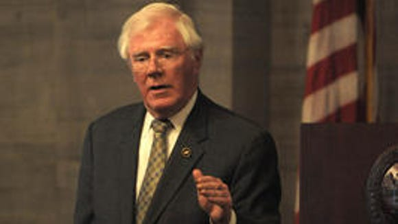 State Rep. Charles Sargent has received a B+ rating from the National Rifle Association. (FILE PHOTO)