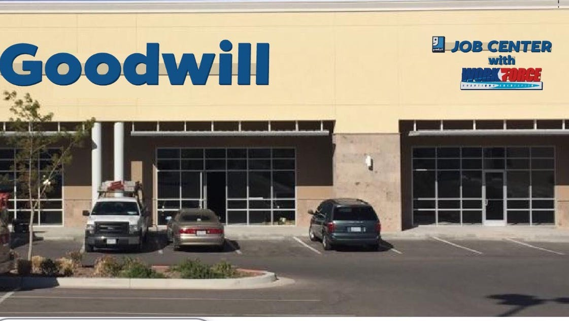 new employment office tied to goodwill store