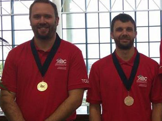Two Wisconsin apprentices earned medals at the 2017 Associated Builders & Contractors (ABC) National Craft  Championship (NCC) in Florida last week. Andrew Lensink from DeTroye ElectricService, Inc., Oostburg, earned a gold medal in the HVAC competition, while Jacob Mitchler from L & C Insulation, La Crosse, took home a silver medal in the insulating competition.