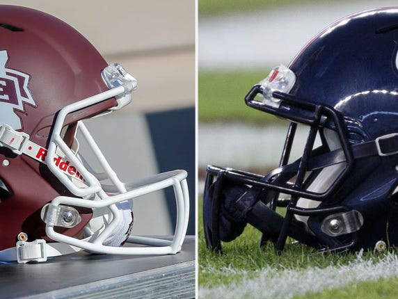 Ole Miss and Mississippi State Football