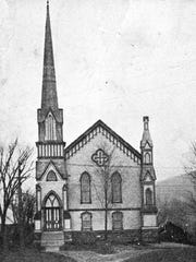 The Universalist Church, built in 1879 by architect and builder George H. Guernsey, is now Richmond's library. After the church was sold in 1956, it was used by the school for school lunches and as a gymnasium.