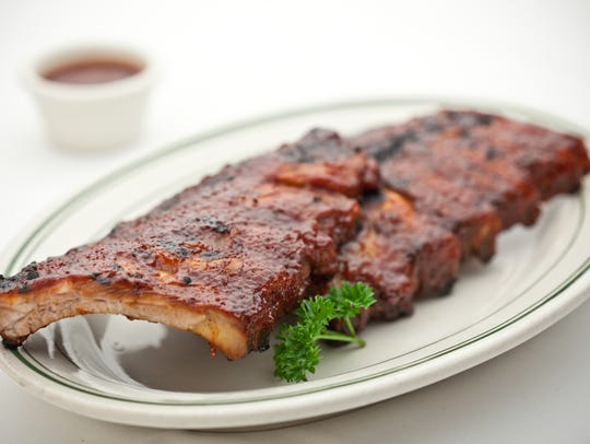 The ribs are a big draw at Don & Charlie's in Scottsdale.