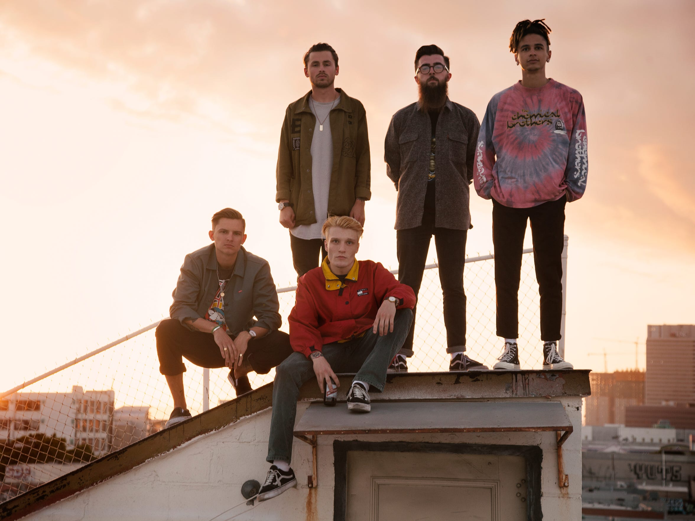 Neck Deep is one of the headlining bands during this year's Vans Warped Tour.