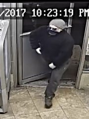 Authorities are looking for this man in connection to an armed robbery on Nov. 26..