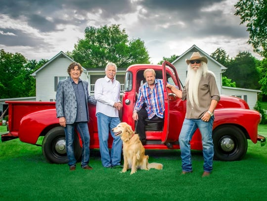 The Oak Ridge Boys will perform Dec. 7 at the Palladium.