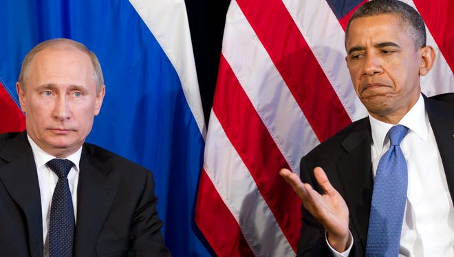 President Obama and Russian President Vladimir Putin last year at a summit in Los Cabos, Mexico.