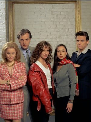 From left: Faye Grant, Stephen Collins, Wendy Makkena, Hil Cato and  Damian Chapa.