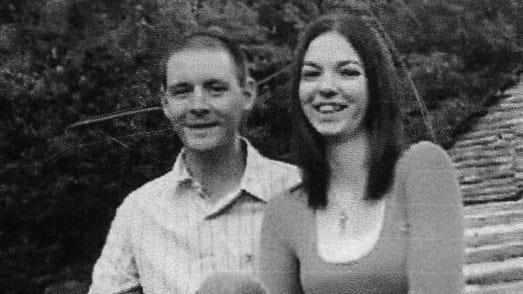 Addie Whiting and Nicholas Hall