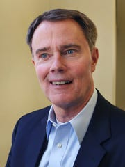 Democratic candidate for Indianapolis mayor Joe Hogsett will face Republican Chuck Brewer in the general election on Tuesday, Nov. 3.