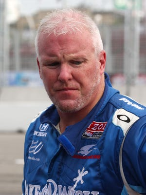 July 10, 2011: Indy Car series driver Paul Tracy before the Honda Indy Toronto through the streets of downtown Toronto.