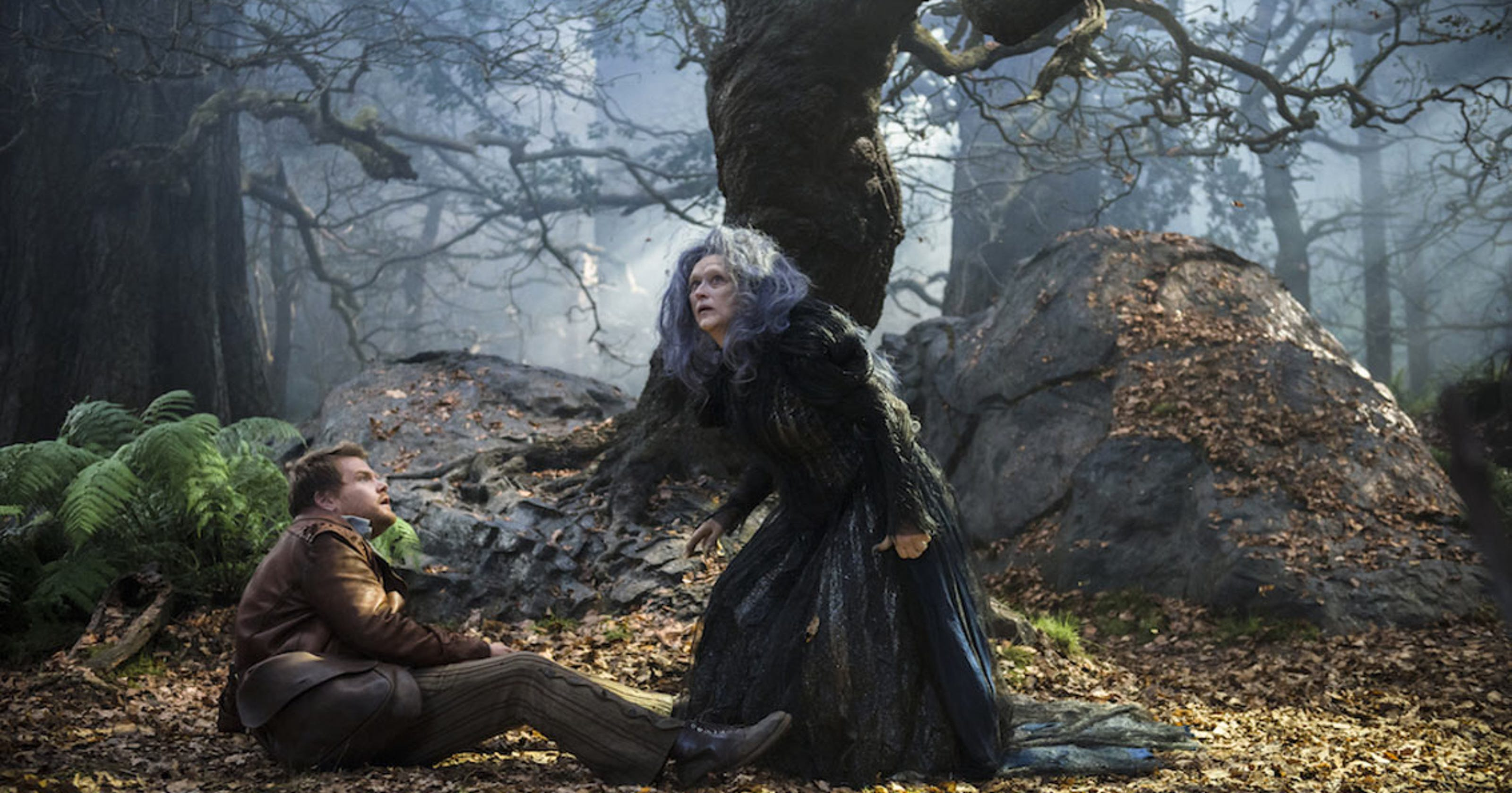 Movie review: Charming cast anchors dark 'Into the Woods'