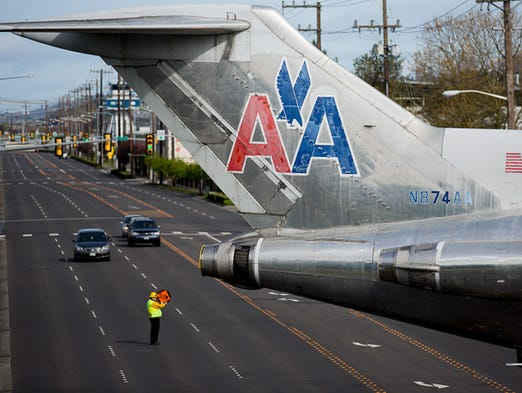 The Museum of Flight's American Airlines' Boeing 727