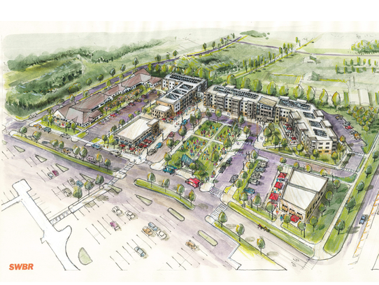 A 162-unit senior housing and commercial space project