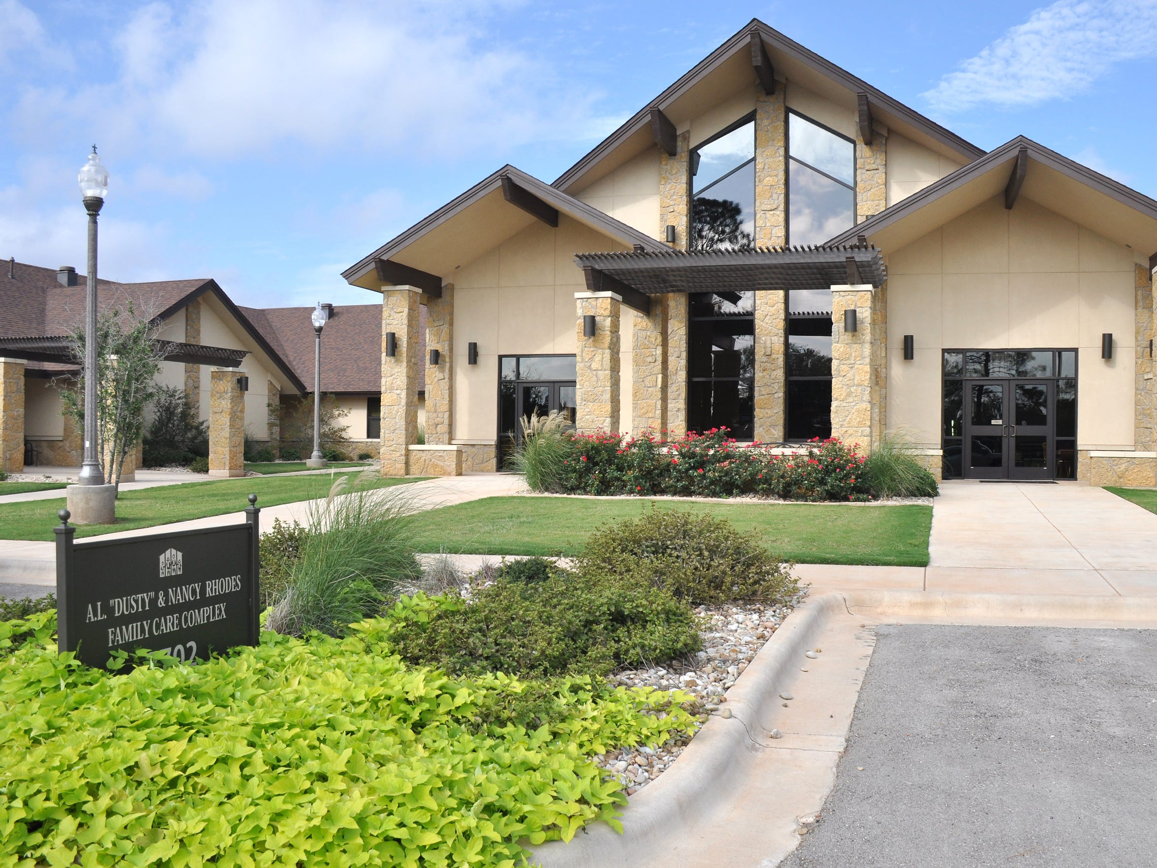 """The A.L. """"Dusty"""" and Nancy Rhodes Family Care Complex opened at Hendrick Home for Children in 2016 to provide living quarters for single moms and their children."""