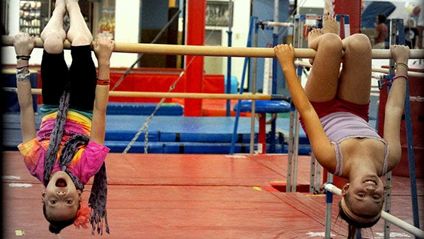 FOR THE DANCER/GYMNAST: SUPERCAMP   Ages 3-13. At Arizona Sunrays' spring break camp, children practice gymnastics, karate and dance, and enjoy a bounce house and zipline.   DETAILS: 8:30 a.m.-3 p.m. Monday-Friday, March 7-11, 14-18 or 21-28. Arizona Sunrays, 3110 E. Thunderbird Road, Phoenix. $269 full day, $185 half day; $3.25 per hour extended half hour until 6 p.m. 602-992-5790, arizonasunrays.com.